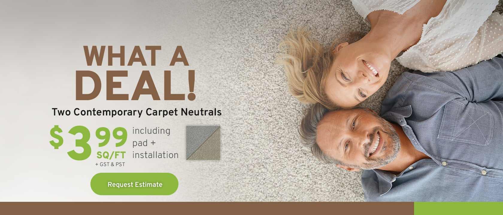 Contemporary Carpet Naturals Banner - Kingston Flooring